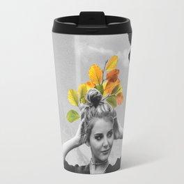 Travel Mug - CROW GIRL  - Gloria Sanchez Artist
