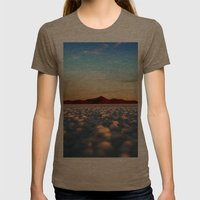 Sunrise Womens Fitted Tee Tri-Coffee SMALL