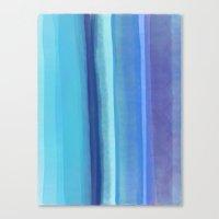 blu Canvas Print