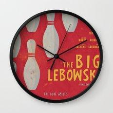The Big Lebowski - Movie Poster Wall Clock