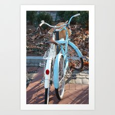 Head over Wheels Art Print