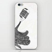 Snnnakee! iPhone & iPod Skin