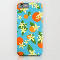 iPhone & iPod Case featuring Orange Blossom Daydreams by Sabra Summers