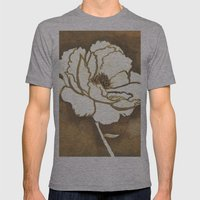 Flower Mens Fitted Tee Athletic Grey SMALL