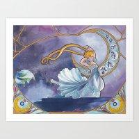 Princess Serenity Art Print