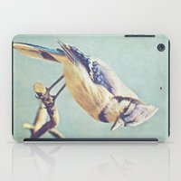iPad Case featuring Virginia Bluejay by Beth Thompson