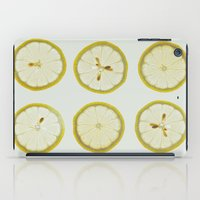 Lemon Square iPad Case