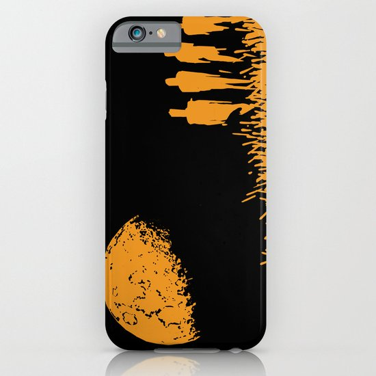 """New Moon"" by Justin Hopkins (Black Version) iPhone & iPod Case"