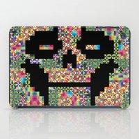 The Black smiles iPad Case
