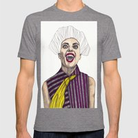 Fashion Illustration - P… Mens Fitted Tee Tri-Grey SMALL
