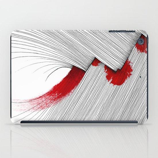 Impact (white version) iPad Case