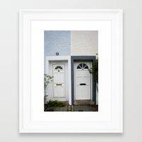 Front Doors Framed Art Print
