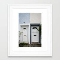 Front Doors Framed Art Print