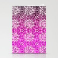 Lacey Ombre' Mandalas Stationery Cards