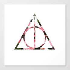 The Girly & Deathly Hallows Canvas Print