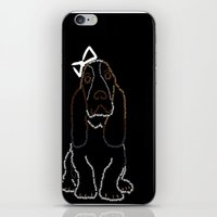 Basset Hound iPhone & iPod Skin