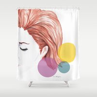 days go by Shower Curtain