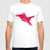 Ink Jet Mens Fitted Tee White SMALL