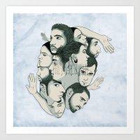 Rotoscopy Art Print