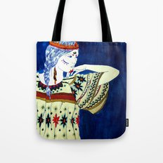 Indian Girl Tote Bag