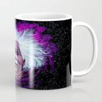 Albert Einstein Nebula Mug