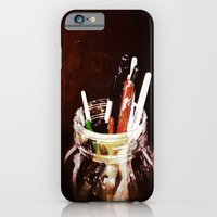 Brushes In A Jar iPhone 6 Slim Case