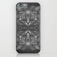 iPhone & iPod Case featuring Ginger, in reflection and B&W by Bruce Stanfield