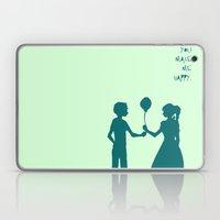 You Make Me Happy. Laptop & iPad Skin