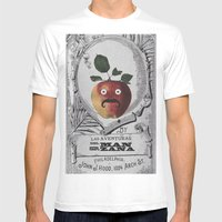 Mr Manzana Mens Fitted Tee White SMALL