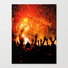 Flaming Lips Concert Canvas Print