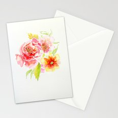 Spring Flowers - Watercolor Stationery Cards