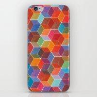 Hexagons iPhone & iPod Skin