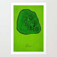 The Giving Tree by Shel Silverstein Art Print