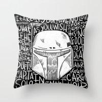 no disintegration  Throw Pillow