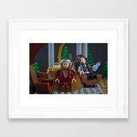 New Fangled Tourists Framed Art Print