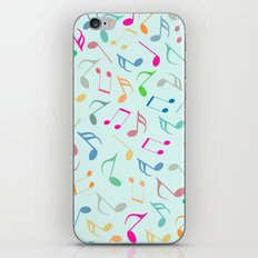 Music Colorful Notes iPhone & iPod Skin