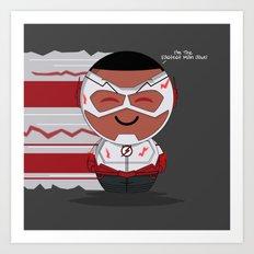 ChibizPop: Wally Art Print