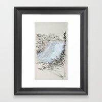 Local Gem # 6 - Ithaca F… Framed Art Print