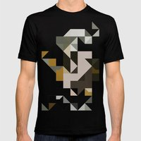Color Story - Primordial… Mens Fitted Tee Black SMALL
