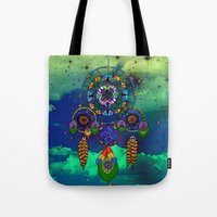 Dream Catching Tote Bag