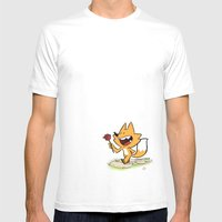 Another Word for Surprise Mens Fitted Tee White SMALL