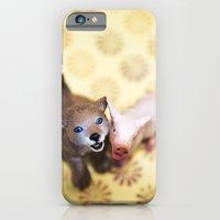 Why do we love dogs and eat pigs? iPhone 6 Slim Case