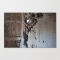 Domed Mirror Canvas Print