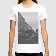 Berlin Womens Fitted Tee White SMALL