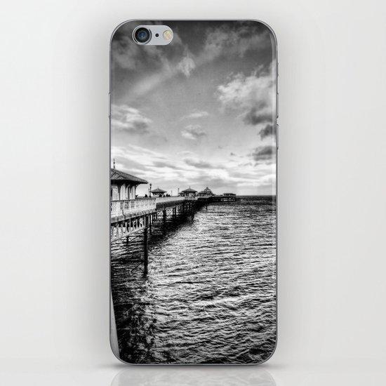 The pier iPhone & iPod Skin