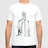 Libra / 12 Signs Of The … Mens Fitted Tee White SMALL