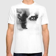 Portrait 16 White SMALL Mens Fitted Tee
