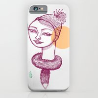 iPhone & iPod Case featuring Winter is coming by ValD