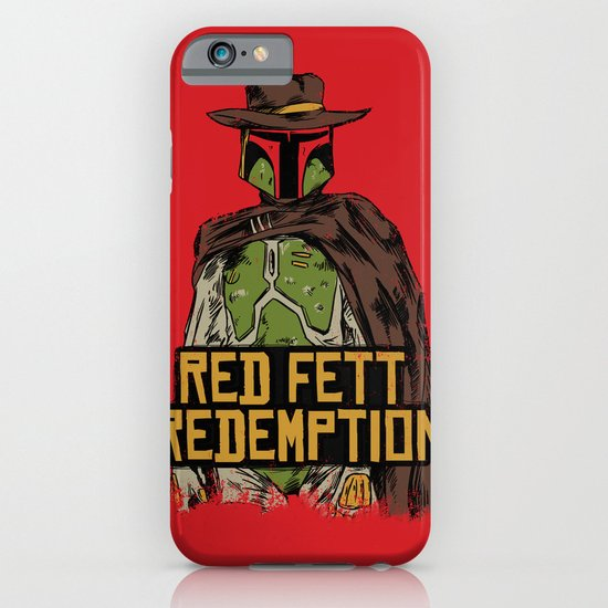 Red Fett Redemption iPhone & iPod Case