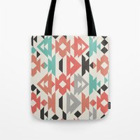 Caleido Triangle Tote Bag
